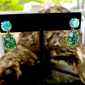 """Beautiful Sparkly 1"""" Post Earrings"""